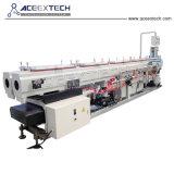 La doble línea de producción de tubería de PVC