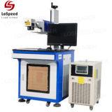 Macchina UV di plastica della marcatura del laser di marchio di stampa di codice di alta precisione in lotti
