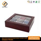 Cuadro de amarre artesanales de madera del compartimento de almacenamiento 9
