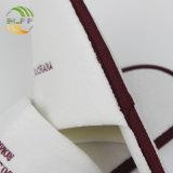 El diseñador de interiores de terciopelo reciclables zapatilla zapatilla con logotipo bordado