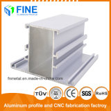 Perfil de extrusiones de aluminio para Windows realizados en la ciudad de Foshan