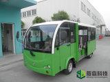 Het Bedrijf van de school/MiniBus 14 van de Pendel van het Winkelcomplex Elektrische Zetels