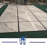 白い大理石の/Step/Windowsの土台またはカウンタートップに床を張るための磨かれたVolakasの白い床タイル