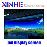 P4mm Location d'intérieur de la publicité pleine couleur Affichage LED avec P3.91, P4.81 de bord