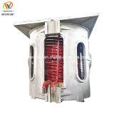 500kg or coque en aluminium de la métallurgie moyenne fréquence four à induction