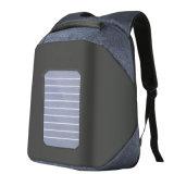 Energia Solar Theftproof antirroubo exigível viagens de negócios Computador Portátil Laptop Backpack Pack Saco com USB (CY1922)