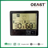 Mini-relógio digital doméstico com aviso de Termómetro Ot3378