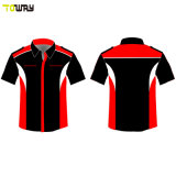 Button Down Sublimation Racing Shirts All'Ingrosso