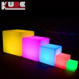 Загорается Cube сиденье стул табурет светится светодиод - Куб