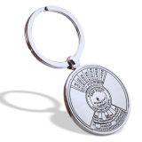 Индивидуальные металлические компас кольца для ключей с высоким качеством
