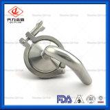 Valvola di sfiato sanitaria dell'aria del morsetto dell'acciaio inossidabile del commestibile tri