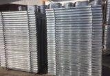 Antiseptischer/nicht rostender/Qualitäts-Zink-temporärer Stahlzaun