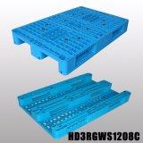 3 de Op zwaar werk berekende Plastic Pallet van agenten 1200*1000 voor Verkoop