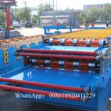 Doppelte Schicht-Dach-Blatt-Formungs-Maschinen-Produkt-Breite 1220mm
