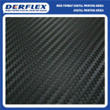 Adesivo de vinil de fibra de carbono para acondicionamento de Automóveis