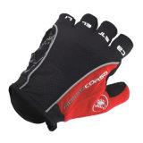 Мотоцикл перста высокого качества Black&Red половинный участвуя в гонке перчатка (MAG49)