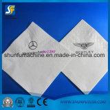 Lenço guardanapos de papel tecido de bolso de máquinas de acondicionamento automático