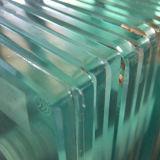 3-15mm 매우 명확한 플로트 유리/낮게 다림질한다 유리 (JINBO)를