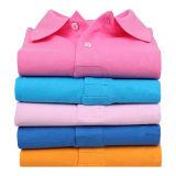 Monté femme Dry Fit Polos de Golf de commerce de gros des vêtements de travail