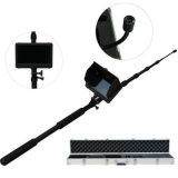 Waterproof 5MP 1080P HD Pesquisa de áudio e vídeo e resgate Telescoping Life Detector with Lights
