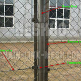2.5mm Chain Link Mesh Fencing