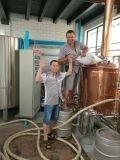 500L赤い銅ビールビール醸造所装置