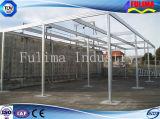 Pabellón ligero de la estructura de acero para el supermercado (FLM-C-015)