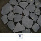 Pulido/Flameados/Naturalsplit Zhangpu Material de construcción de basalto negro para la pavimentadora/la pavimentación de la piedra natural