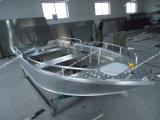 大きい海のアルミ合金の漁船