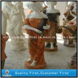 Het marmeren Beeldhouwwerk van de Steen van het Standbeeld van het Graniet van de Steen Snijdende
