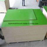 1220X2440X18mm Belüftung-Plastikfilm stellte Furnierholz für Shuttering Aufbau-Verbräuche gegenüber