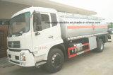 4X2 LHD y Rhd 15 toneladas reaprovisionan el petrolero de combustible 16 toneladas de depósito de gasolina para la venta