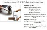Pin-statische Brinellhärte-Prüfvorrichtung/beweglicher Brinellhärtemesser/Brinellprüfvorrichtung/Brinellhärte-Prüfvorrichtung/Härte-Prüfvorrichtung-/Prüfungs-maschinelle Bearbeitung/Laborgerät