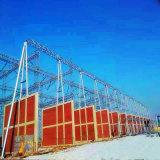 struttura d'acciaio della sottostazione del trasporto di energia del tubo di Shapped del portello 500kv