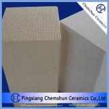 Substrato de armazenamento de calor do ninho de cerâmica para o Trocador de Calor