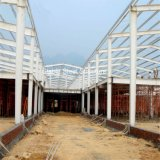 Construction d'atelier de structure métallique de Prefabicated