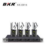KX-D814 het UHF Draadloze Systeem van de Microfoon Lavalier