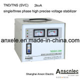 電圧Regulators TndかTns (SVC) Single/Three Phase High Precise Voltage Stabilizer