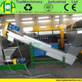 Fabbrica che prepara plastica che schiaccia riciclando la pianta di lavaggio delle bottiglie dell'HDPE delle macchine