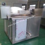Sartén de descarga automática de la calefacción de gas/sartén de China