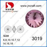elemento cristalino Polished de 12m m para los accesorios de la joyería de la manera