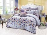 Reine Baumwolle mit der reagierenden gedruckten Bettwäsche eingestellt (YH1415)