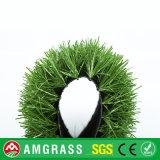 Synthetisches Gras für Fußball, bedecken Chemiefasergewebe mit Gras