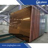 Miroir en aluminium à couche double de peinture verte pour des meubles