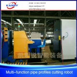 CNC van de Vlam van het plasma 3D Scherpe Machine van het Profiel van de Buis van het Metaal