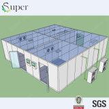 A Grande-Extensão estrutura os edifícios de aço do armazém de armazenamento frio