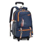 Alunos de escolas primárias e mochila trolley amovível (GB#098)