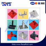 Types d'embase d'échafaudage pour la construction