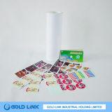 Papel de etiquetas adhesivas de alta Golss etiqueta