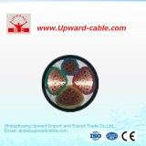 cable de transmisión de aluminio del PVC de la cinta del PVC Isnulation del conductor del Cu 0.6/1kv